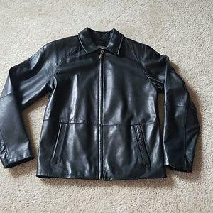 Wilson Mens genuine leather jacket